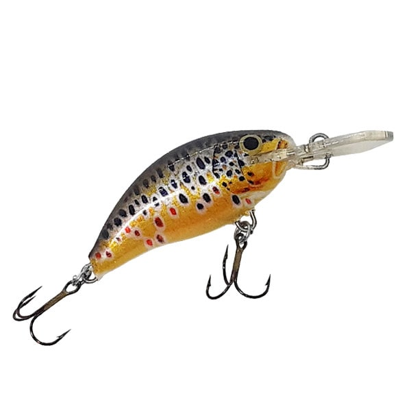 MINNOW BROWN TROUT GOLD S
